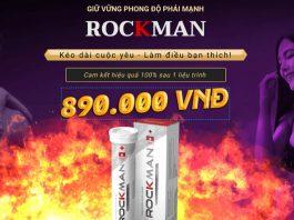 Nhà sản xuất RockMan ưu đãi giảm giá 50%