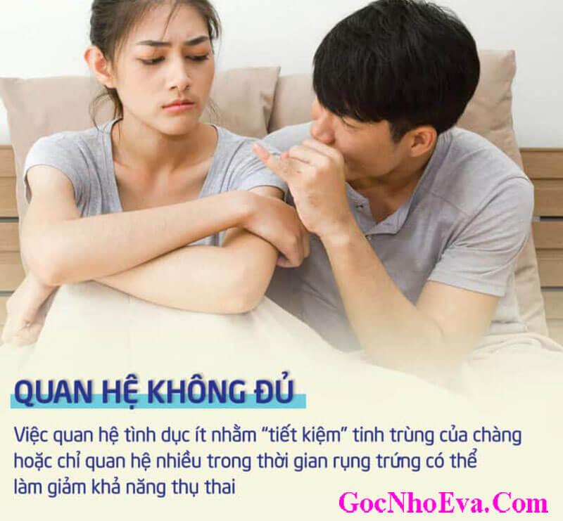 Đàn ông lâu không quan hệ tình dục vợ chồng dẫn đến tình cảm sứt mẻ
