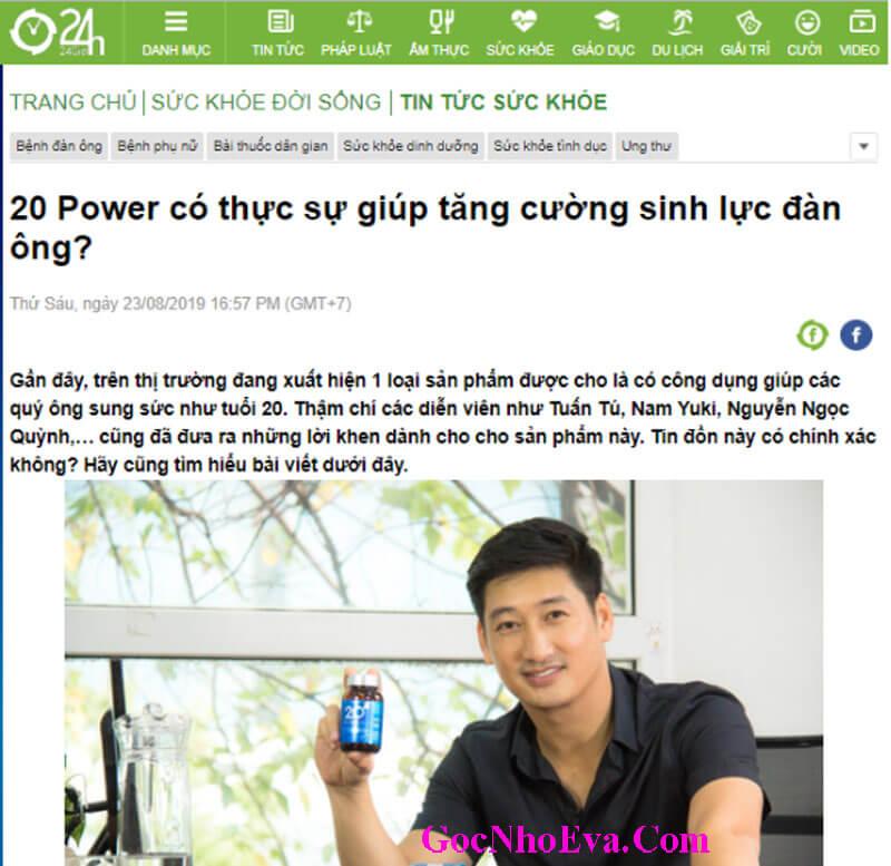 Diễn viên Ngọc Quỳnh Review 20 Power LỪA ĐẢO hay không?