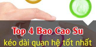 4 Loại BAO CAO SU kéo dài thời gian quan hệ AN TOÀN TỐT nhất 2019