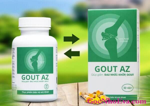 Viên uống Gout AZ thành phần 100% từ thiên nhiên
