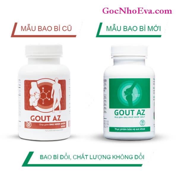 Sản phẩm Gout AZ giá chỉ 295.000đ/1 hộp