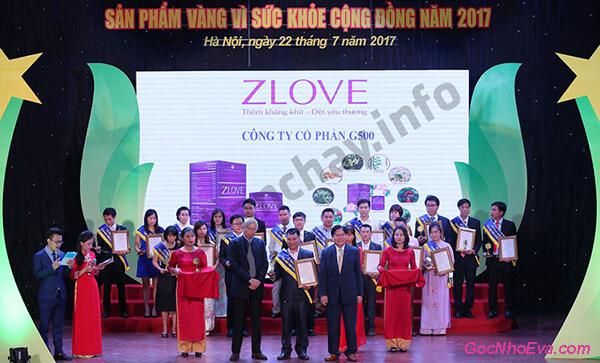 Chứng nhận Zlove