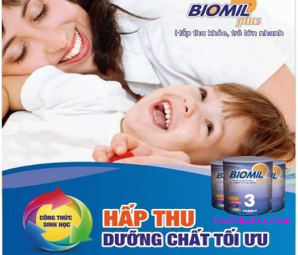 Sữa tăng cân cho trẻ nhỏ Biomil