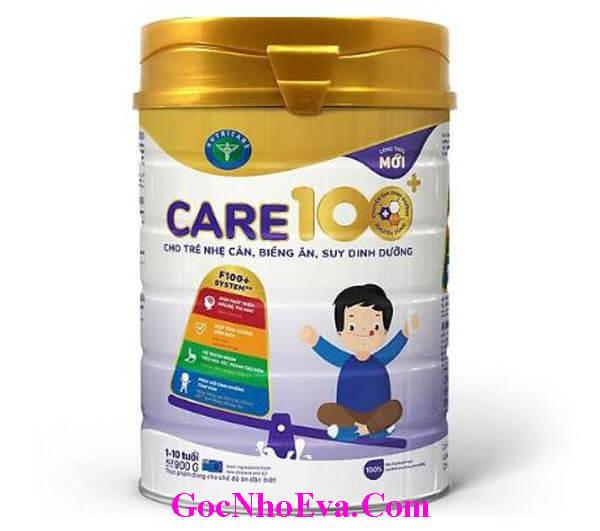 Sữa tăng cân cho trẻ nhỏ Care 100+