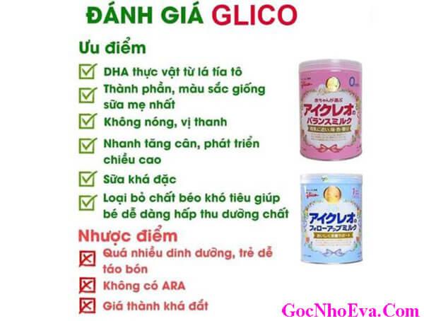 Sữa tăng cân cho trẻ nhỏ Glico số 0