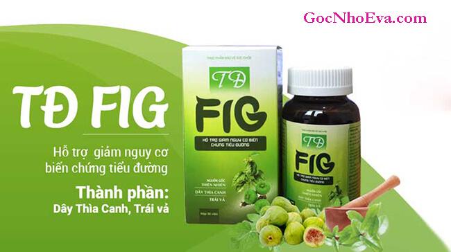 100% thành phần của TĐ Fig từ dây thìa canh và trái vả