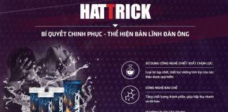 Viên sủi Hattrick chính hãng tăng cường sinh lý nam giới
