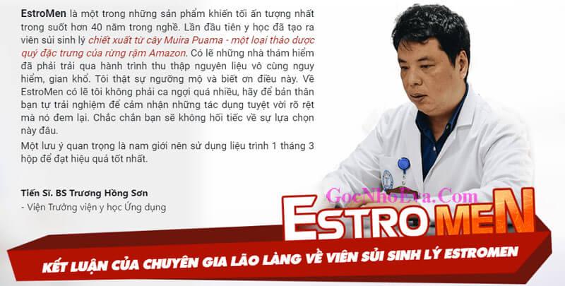 Tiến Sỹ - Bác Sỹ Trương Hồng Sơn – Viện Trưởng Viện Y Học Trung Ương