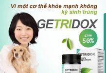 Diệt Ký sinh trùng Getridox Chính Hãng