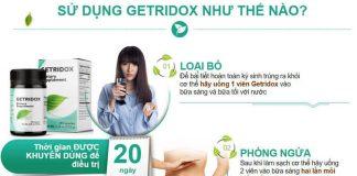 Hướng Dẫn Cách Sử Dụng Getridox Hiệu Quả