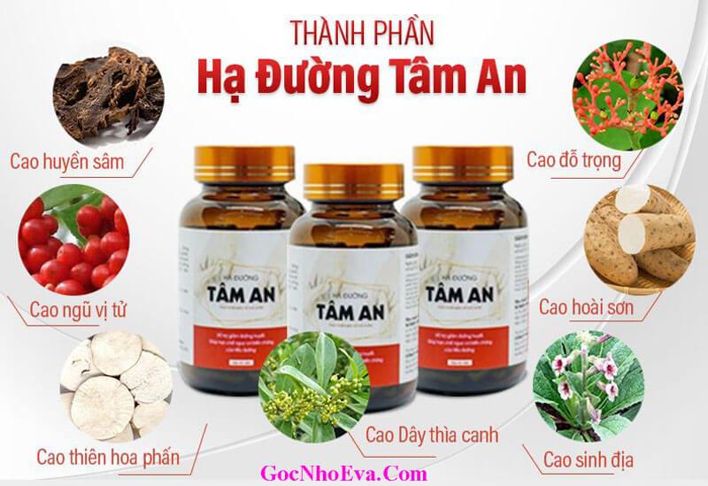 Thanh Phan Vien Uong Ha Duong Tam An Tu Thảo Duoc 100%