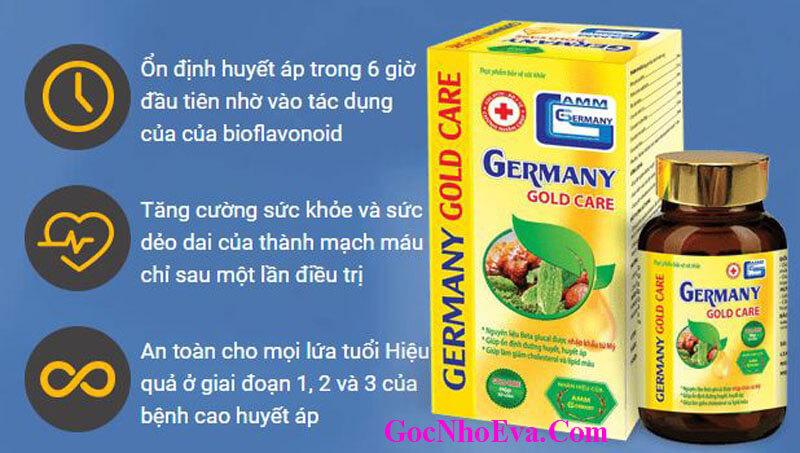 Công Dụng Germany Gold Care Chính Hãng