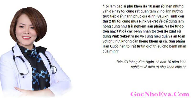Bác sĩ Hoàng Kim Ngân