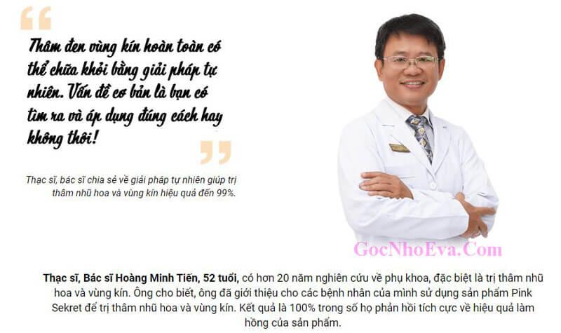 Thạc sĩ, Bác sĩ Hoàng Minh Tiến
