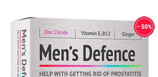 Thuốc Men's Defence Chữa Viêm Tiền Liệt Tuyến