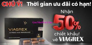 Thuốc tăng sinh lý nam Viagrex