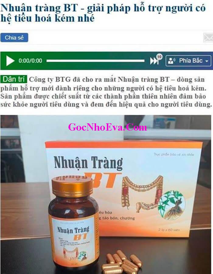 Thuoc Nhuan Trang BT